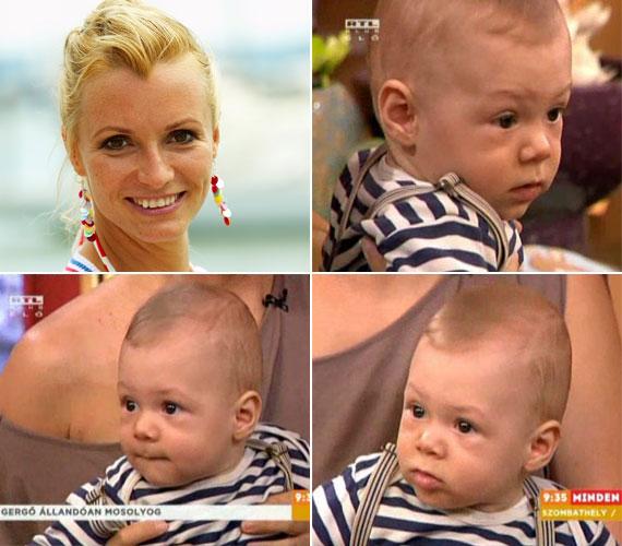 Dombóvári Vanda kisfia 2012. október 5-én látta meg a napvilágot. Az RTL Klub műsorvezetője a nyolchónapos Gergőt május végén mutatta meg a csatorna reggeli műsorában.