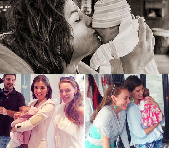 Ördög Nóra kislánya május 6-án született meg. A műsorvezető Miciről születését követően eddig csak részletekben posztolt fotókat a blogján és az Angyalműhely Facebook-oldalán.