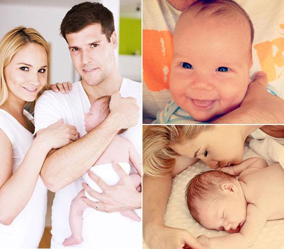 Polgár Krisztina, a 2008-as Miss Earth Hungary kisfia, Olivér június 25-én született meg. Édesanyja szintén a Facebookon tette közzé ezeket a képeket.