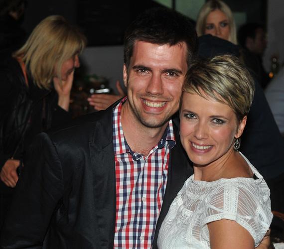 D. Tóth Kriszta sikerét természetesen öccse, a szintén televíziós újságíróként dolgozó D. Tóth András is megünnepelte.