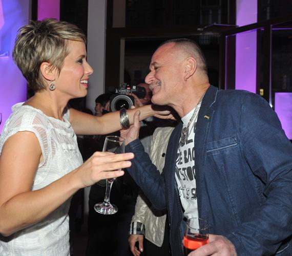 A bulira feleségével érkezett Nagy Feró, míg a DTK Show-ban fiával, Hunorral szerepelt.