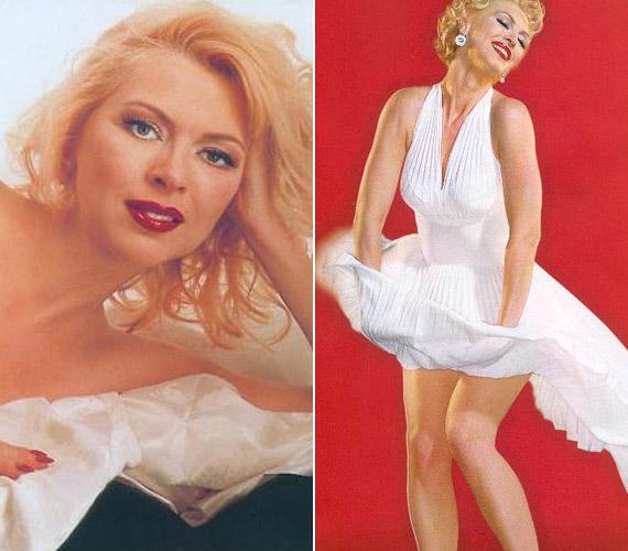A legtöbben Nyertes Zsuzsát azonosítják a magyar sztárok közül Marilyn Monroe-val. A színésznő idén többek között a Múzeumok Éjszakáján lépett fel a világhírű szexszimbólumként. Képei még egy nemzetközi, Marilyn hasonmásokat összegyűjtő oldalon is fellelhető.