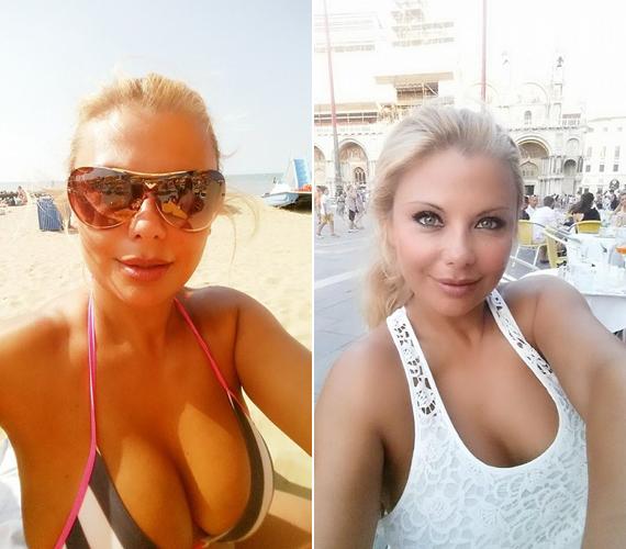 Rába Tímea Olaszországban pihen családjával: bikinis fotóján szexinek találták, míg a Velencében készült csipkeruhás képen a szemeivel nyűgözte le a hozzászólókat.