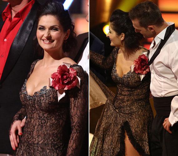 A nézők számára eddig ismeretlen, dögös oldalát is megmutatta Varga Izabella az RTL II-n a Szombat Esti Láz 2013-as adásaiban.