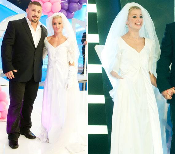 Bárdosi Sándor olimpikon birkózó és felesége, Ildikó voltak a döntőben az egyetlen pár, akik már férj és feleségként versenyeztek a TV2 műsorában. Két és fél év együttélés után tavaly májusban keltek egybe.