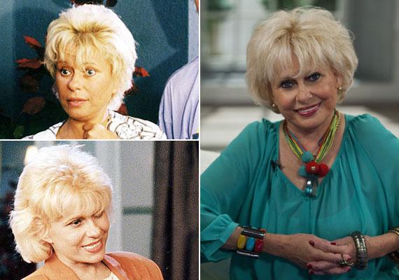 A Família Kft. első számú női sztárja Esztergályos Cecília volt, aki Szép Károlyné Ágicát játszotta. Az energikus színésznőről nehéz elhinni, hogy januárban ünnepelte a 72. születésnapját.