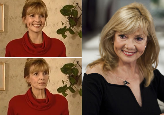 Piros Ildikó a patikust, Hédit alakította a Kisváros című akciófilm sorozatban. A színésznő 67 évesen is gyönyörű.