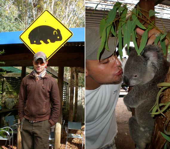 Ausztráliába 2009-ben ment ki, eleinte felszolgáló, majd kertész volt, és saját vállalkozását vezette.