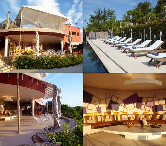 Kívül-belül luxus: a napozóteraszon kiélvezhetik a mexikói napsütést.