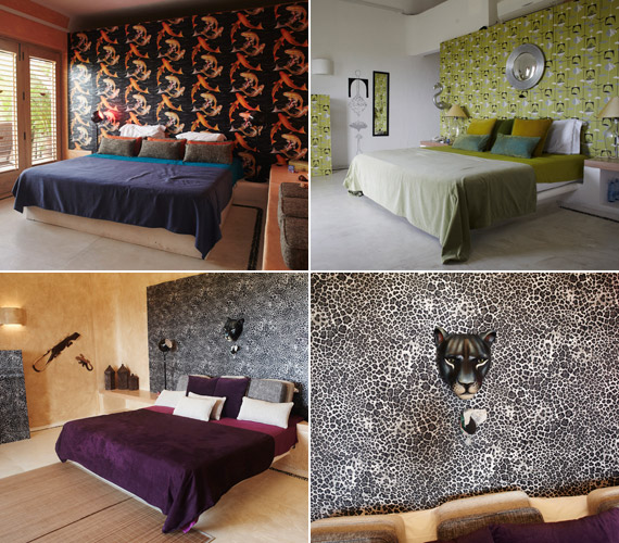 Ezek a szobák adnak otthont a pároknak.