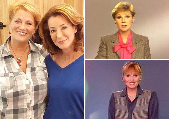 Bay Éva 1976 és 1999 között dolgozott a köztévénél mint bemondónő és műsorvezető. Főzős műsorokban ma is feltűnik vendégként, legutóbb Stahl Judit műsorában szerepelt.