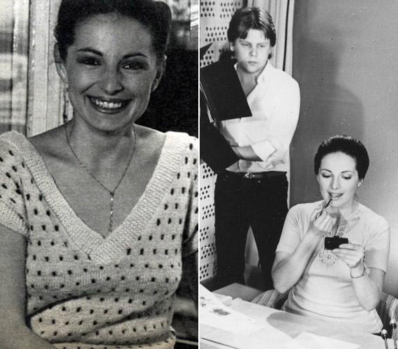 Endrei Judit 1976 és1998 között volt a Magyar Televízió bemondója, de közreműködött az Ablak, a Híradó, a Leporello vagy a Napközi elkészítésében is. Az 1981-es kép egy adás előtti pillanatot csípett el.