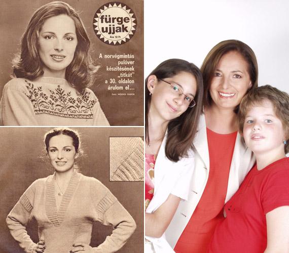 Endrei Judit fiatalon gyakran szerepelt az újságok címlapján. A Fürge Ujjak is szívesen kérte fel modellnek. Nóra és Laura lányát a kilencvenes évek elején, 40 év körül szülte.