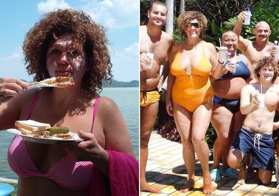 Soma már jó ideje elfogadta magát olyannak, amilyen. Mutatott már fel bikinis fotókat a Facebook-oldalán, a Celeb vagyok, ments ki innen! című műsorban pedig a nézők is láthatták fürdőruhában.