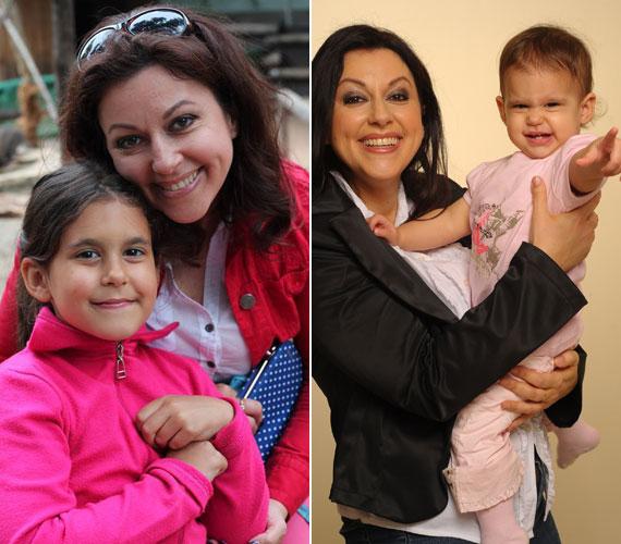 Erdélyi Mónika nagyobbik lánya, Viki már a maga útját járja, a kisebbik, Olívia az ősszel lesz nyolcéves. A huncut kislányból iskolás gyerek lett.