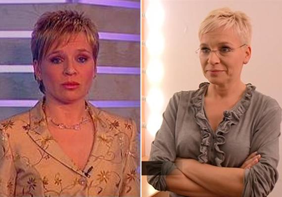 Bárdos András 45 éves felesége, Máté Kriszta 2003 és 2009 között volt látható a Tényekben - férjével együtt. 2012 óta az RTL II-n vezeti a Forró nyomon című műsort. Külseje túl sokat nem változott, még mindig a rövid, szőke frizurát preferálja.