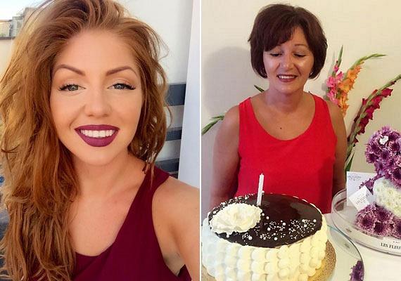 Tolvai Reni édesanyja, Georgetta éppen a napokban ünnepelte 51. születésnapját, fotóját látva pedig bátran kijelenthetjük, bő tíz évet is letagadhat korából. Látszik, a csinos énekesnő anyukája génjeit és mosolyát is örökölte.
