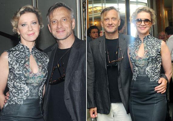 Eszenyi Enikő, a Vígszínház és Mácsai Pál, az Örkény Színház igazgatója - mindketten 54 évesek, egyikük gyönyörű, a másik pedig sármos.