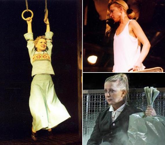 A színpadon már ezerféle arcát láthattuk, a drámai és a vidámabb szerepek is jól állnak neki.