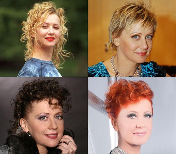 Nemcsak a színpadon átváltozóművész: láthattuk már szőke, barna és vörös hajszínnel, hosszú és rövid frizurával is.