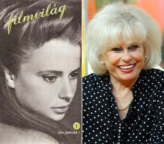 1964. január 1-jén is ő szerepelt a filmművészeti folyóirat címlapján. A jobb oldali kép 2012. szeptember 18-án készült az RTL Klub Csak Csajok című műsorában.