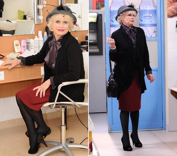 Esztergályos Cecíliáról senki nem mondaná meg, hogy 2013. január 26-án lesz kereken 70 éves. Gyönyörű lábait bármelyik fiatal nő megirigyelhetné.
