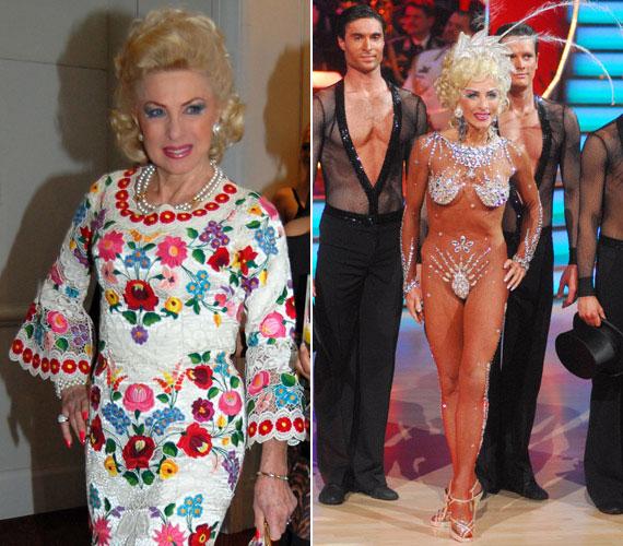 A 73 éves Medveczky Ilona az első magyar szexszimbólumok egyikeként vált ismertté. Az egykori primadonna alakja alig változott valamit az évek során, régi fellépőruháiba ma is belefér, fel is szokta őket venni a Story-gálán, a Szombat Esti Lázban pedig a legmerészebb kreációkban láthatták a nézők.