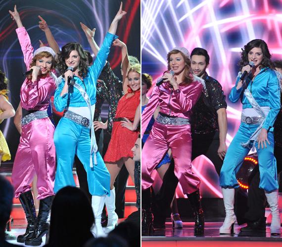 A magyar döntőben versenyen kívül Ónodi Eszter és Jordán Adél színésznők is felléptek az ABBA Waterloo című számával, természetesen a dalhoz passzoló stílusú kezeslábasban. A svéd banda ezzel a számmal nyerte meg az 1974-es Eurovíziós Dalfesztivált.