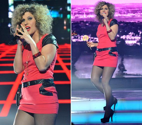 Fábián Juli & Zoohacker a második elődöntő közönségszavazatai alapján jutottak a döntőbe. Az énekesnő nemcsak hangjával és dalukkal, öltözetével is színt vitt a stúdióba.