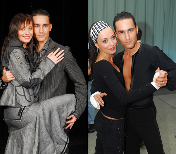 2006-ban a Szombat esti lázban a profi táncos Angyal András partnereként szintén hosszú hajjal hódított.