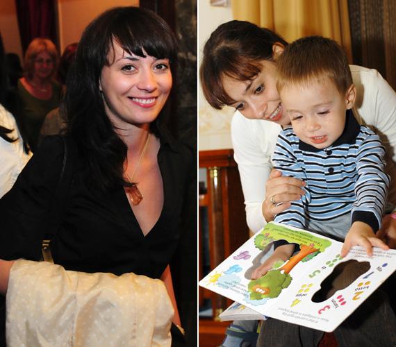 A 2004-ben, Benjámin fia születésekor még frufrus, lófarkas anyuka volt, 2008-ban, amikor Rebeka lányával volt várandós, már körvonalazódott a jelenlegi frizura, csak más hajhosszal.