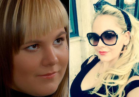 A bal oldali fotó tinikorában, pár évvel ezelőtt készült. Látszik, a mulatós sztár lánya hatalmas változáson ment keresztül az elmúlt időszakban. Hajszínt váltott, és stílusa is kialakult.