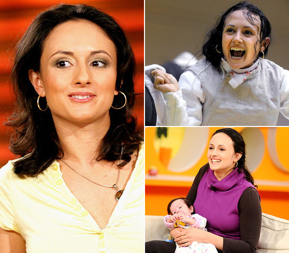 Mohamed Aida világbajnoki ezüstérmes, Európa-bajnok tőrvívó is várandós. A 37 éves sportoló nem verte nagydobra, hogy májusban ad életet második gyermekének. Férjével, az egykori kanadai párbajtőröző Laurie Shonggal ismét kislányt várnak. Első gyermekük, Olívia 2009. július 18-án született.