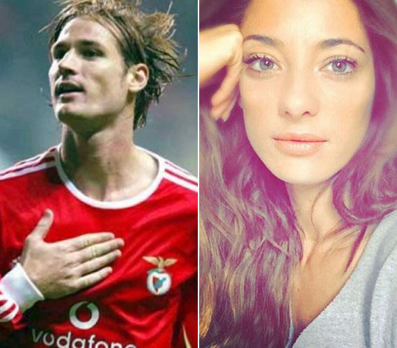 Fehér Miklós a tragikus hirtelenséggel elhunyt focista, és húga, Orsi, akiből keresett modell lett.