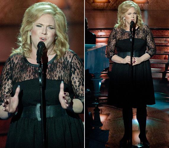 """Amikor Adele-től az énekesnő Someone Like You című slágerét adta elő, a zsűri hiányolta az """"eredeti előadó jelenlétét"""" a produkcióban, így összesen 32 pontot kapott a lírai előadásért. A nővé való átalakulásáért tőlünk maximum pontszámot kapott volna."""