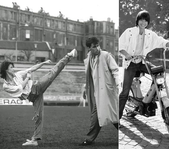 A karatézós rendőrlány mozgalmas életét és bravúros nyomozásait bemutató Linda sorozat több évadon át forgott, összességében 1980 és 1991 között 17 rész készült, majd 1999 és 2000 között még öt részt leforgattak - ez utóbbiak már közel sem arattak akkora sikert, mint a '80-as évekbeli epizódok. A sorozat alapötlete Gát György rendező fejéből pattant ki, akire nagy hatással voltak a Bruce Lee- és Jackie Chan-filmek, de ő az akciót sok humorral akarta megoldani. Bár eleinte szkeptikusan álltak hozzá a Magyar Televíziónál, végül elfogadták az ötletét. Linda szerepét kimondottan Görbe Nórára írták, aki emiatt tanult meg karatézni. Verekedés közbeni sikolya ikonikussá vált.