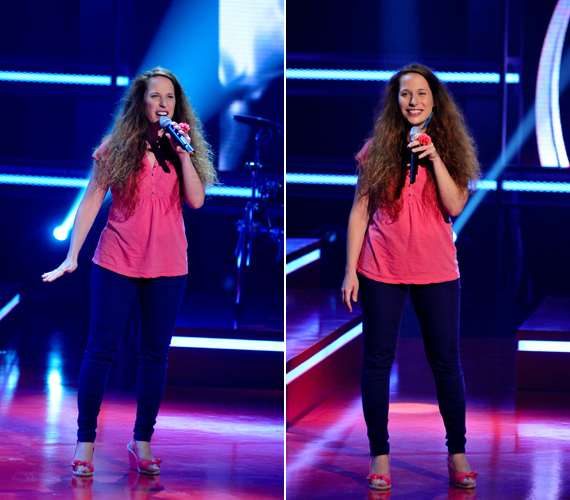 A szerény énekesnő még zenésztársai előtt is eltitkolta, hogy jelentezett a Voice-ba.