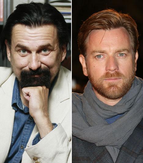Anger Zsolt  A Jászai Mari-díjas színművész a népszerű skót származású angol színész Ewan McGregor állandó magyar hangja.