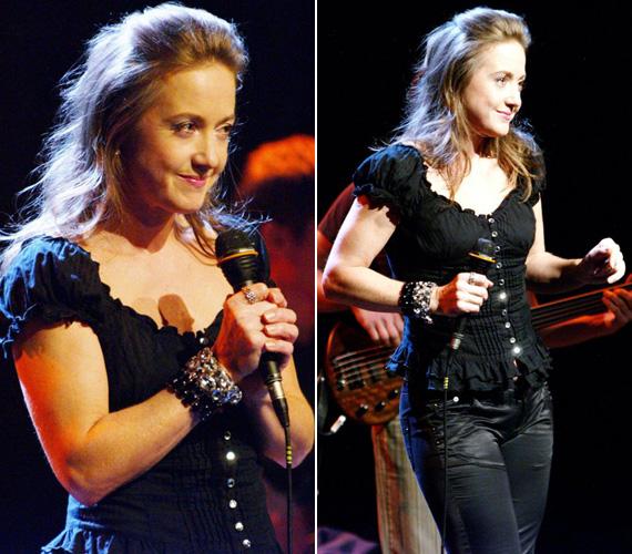 Énekesnőként is sikeres: 2006-ban jelent meg első nagylemeze Nőstény álom címmel, amelyet 2010-ben a Kitalált világ követett. A zenéjét mindkettőnek Hrutka Róbert szerezte, a dalok szövegét pedig Bereményi Géza írta.