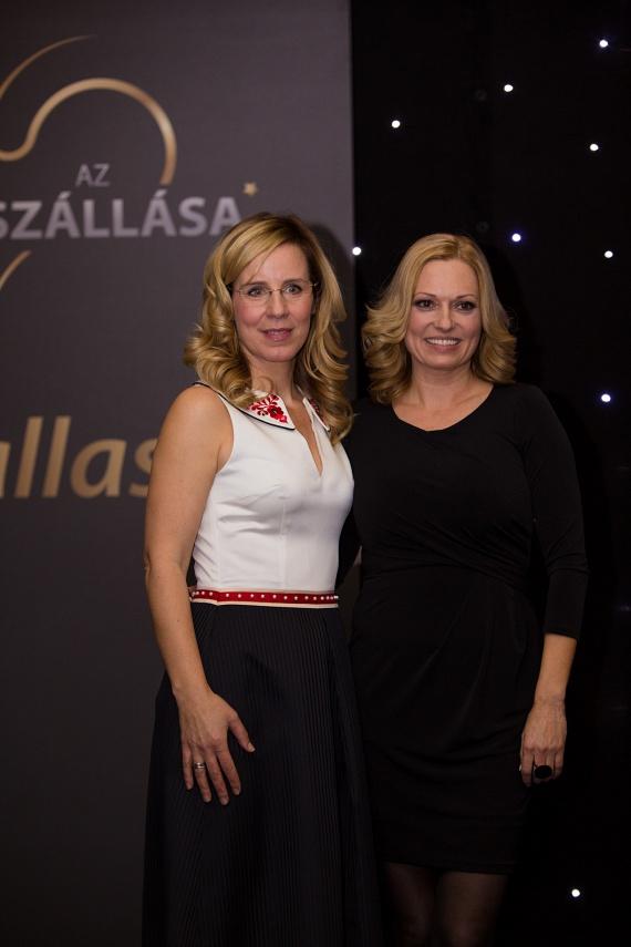 A magyar turizmus legkiemelkedőbb rendezvényein együtt díjazott az RTL Klub és a TV2 időjósa, Pataki Zita és Gaál Noémi.