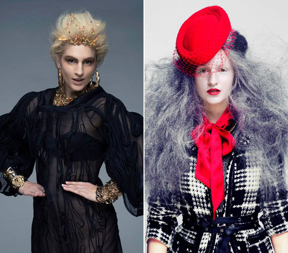 A külsejét ideiglenesen még ma is szívesen átalakítja, tavaly a fiatalokból álló kreatív csapat, a Be Crew fotózásán változott át csábító fiatal nővé és ősz hajú nagymamává.