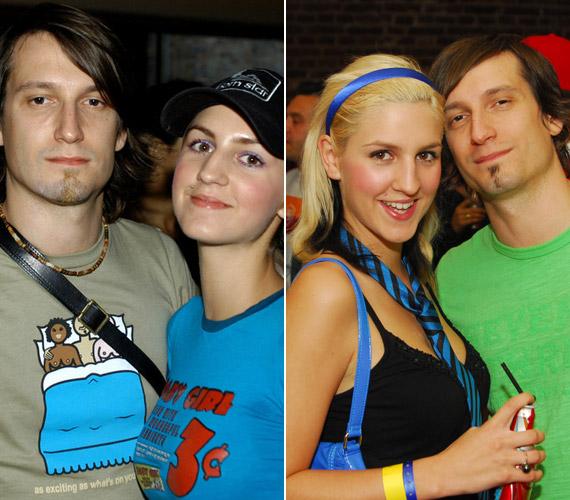 A Megasztár révén ismerte meg a zsűritagok között helyet foglaló United zenekar frontemberét. A pár 2004-ben és 2006-ban.