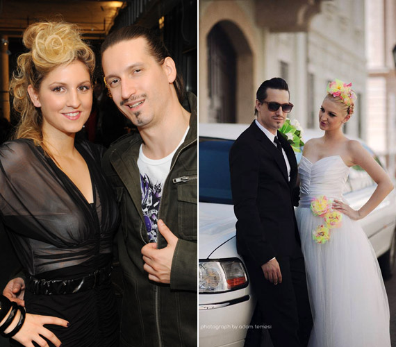 Az évek során egyre nőiesebbé váló Galambos Dorina és Pély Barnabás tíz év együttélés után, teljesen titokban házasodott össze 2013. augusztus 2-án. Csak a szűk rokoni kör vehetett részt a szertartáson, tanúik pedig a legjobb barátaik voltak.