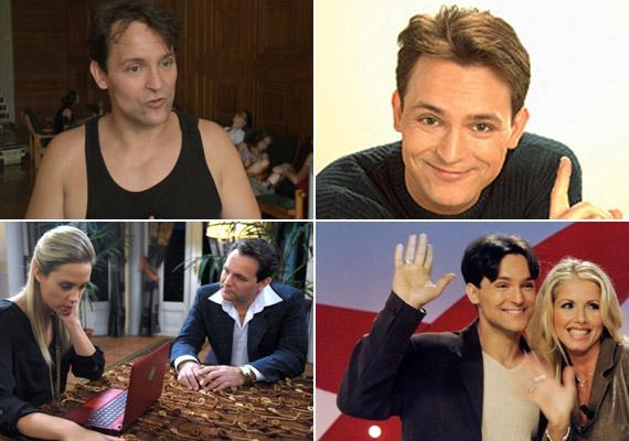 Gáspár András színész az RTL Klub telefonos vetélkedőinek kölyökképű műsorvezetője volt a kilencvenes évek végén.