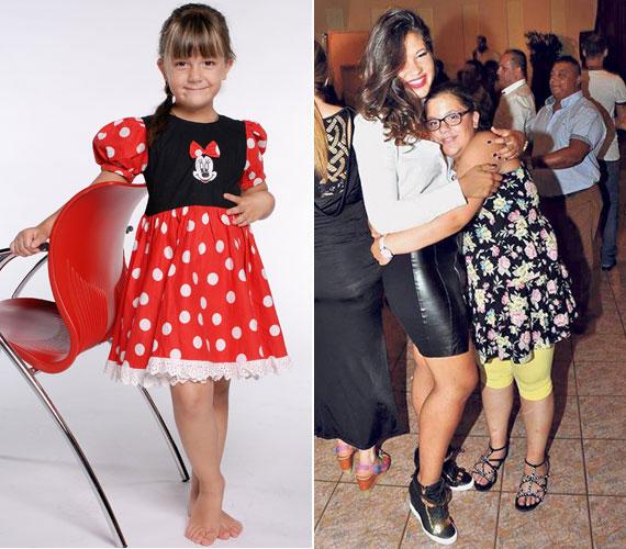 Gáspár Győző kisebbik lányát háromévesen ismerte meg az ország a Győzike Show-ban. Virág akkor még vékony, hisztis kislány volt, nővére volt az, aki túlsúllyal küzdött. Az utóbbi években aztán fordult a kocka: Evelin lefogyott, Virág meghízott.