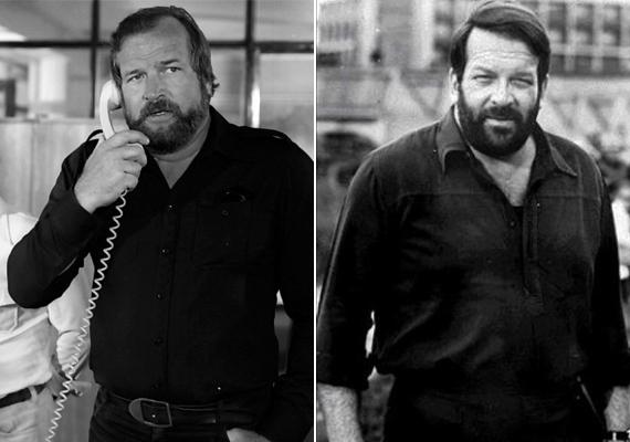 Bár sajnos Bujtor István már nincs köztünk, Bud Spencer magyar hangja nagyon hasonlított az általa szinkronizált színészhez. Íme, két régi kép róluk.