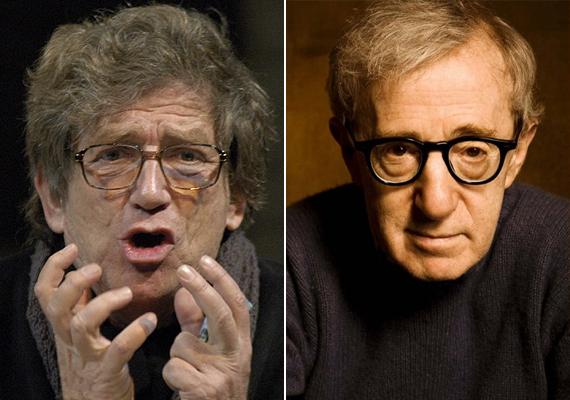 Woody Allen szinkronhangjának, Kern Andrásnak a vonásai kétségkívül hasonlítanak a külföldi színészére, de erre azért a szemüveg is rátesz egy lapáttal.