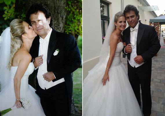 Az 56 éves Gergely Róbert június 21-én vette feleségül a nála 24 évvel fiatalabb Némedi-Varga Tímea színésznőt.