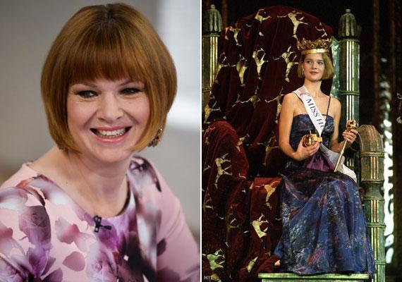 Gerlóczy Magdolna a köztévé Ridikül című talkshow-jában és 1989-ben Miss Hungaryként.