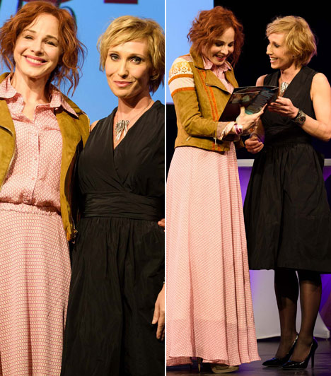 Ónodi EszterAz RTL Klub Aranyélet című sorozatában vagy az Anyám és más futóbolondok a családból című filmben zseniálisat alakító Ónodi Eszter vehette át az év színésznőjének járó díjat Bombera Krisztinától.